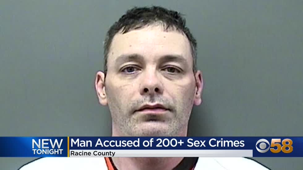 Racine County man faces over 200 counts of sexual assault after police obtain numerous videos