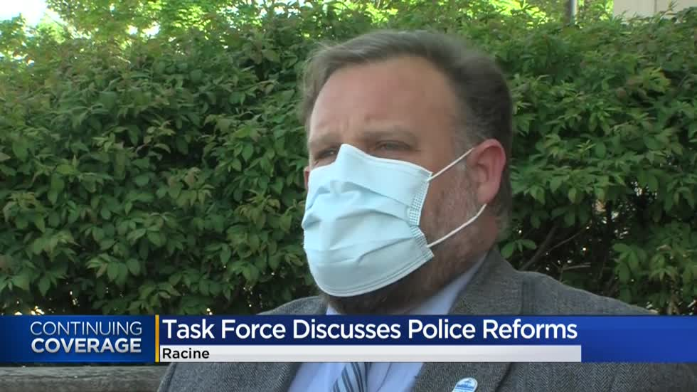 Racine Task Force holds first public meeting to discuss police reform