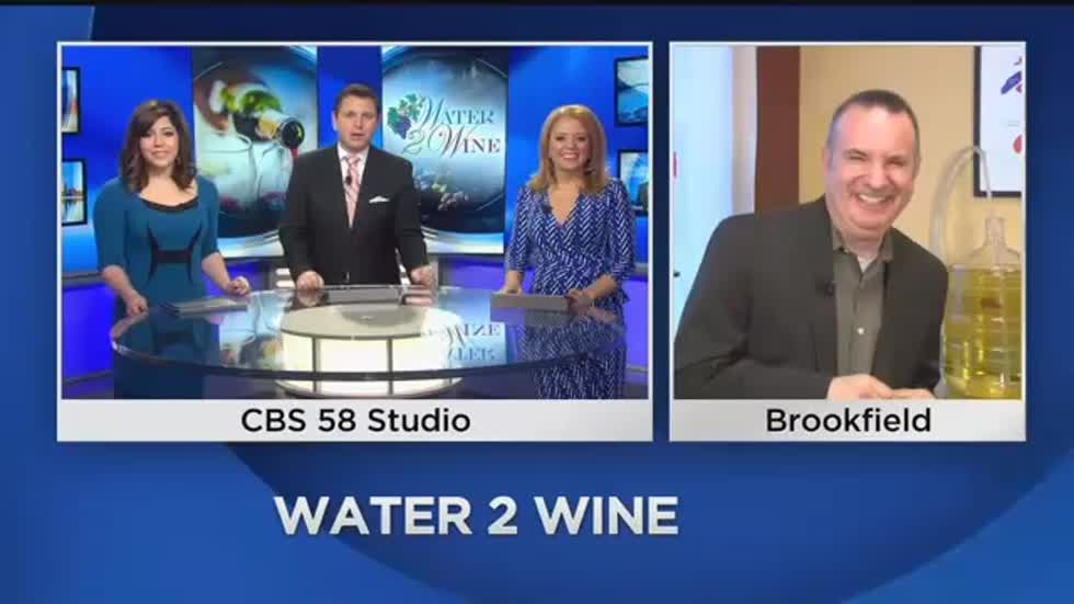 "Raise a glass to 5 years of business for ""Water 2 Wine"""