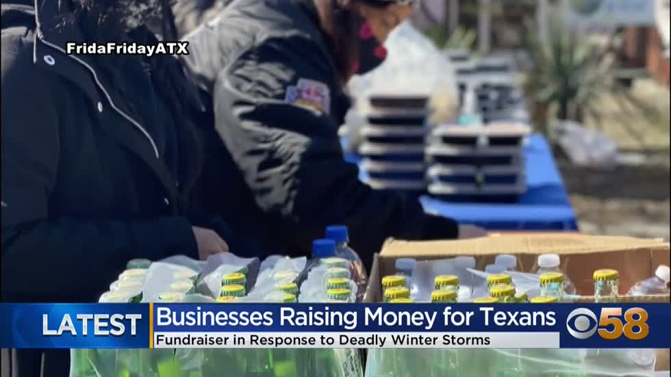 WI Red Cross, Milwaukee businesses answer call to help Texas residents after winter storm