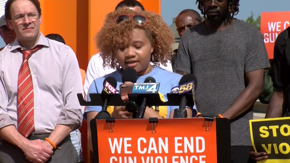 Community leaders and students rally to end gun violence