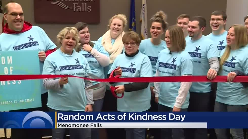 Menomonee Falls group to perform random acts of kindness