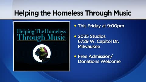 "Free Community Concert on Friday wants to put the ""rap"" on homelessness"