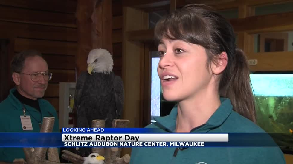 Xtreme Raptor Day to be held Saturday at Schlitz Audubon Nature Center