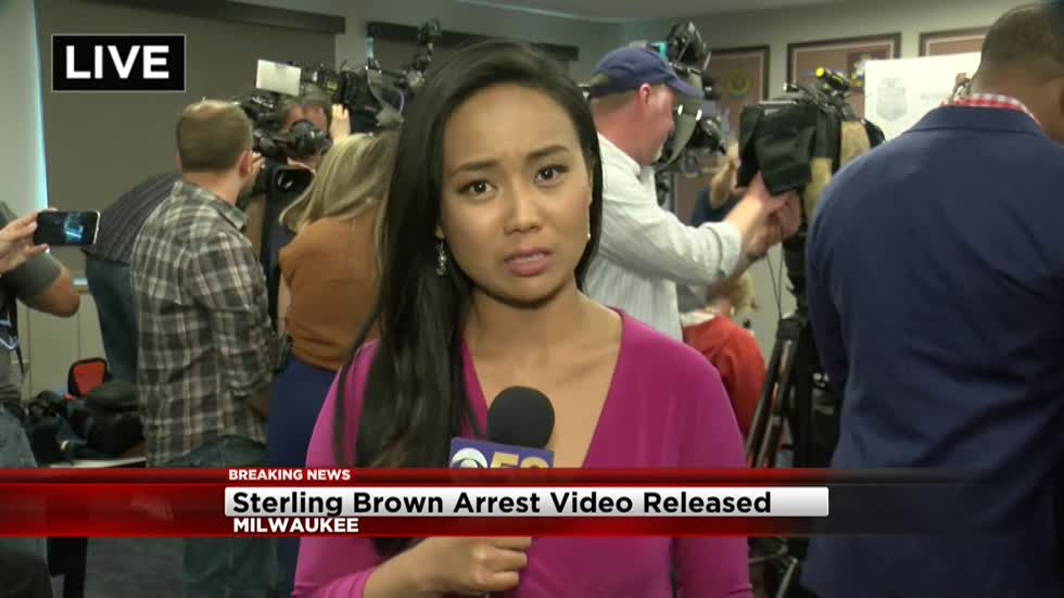 Milwaukee Bucks player Sterling Brown releases statement following release of arrest video