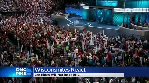 Reaction, impact of Joe Biden no longer coming to Milwaukee for...