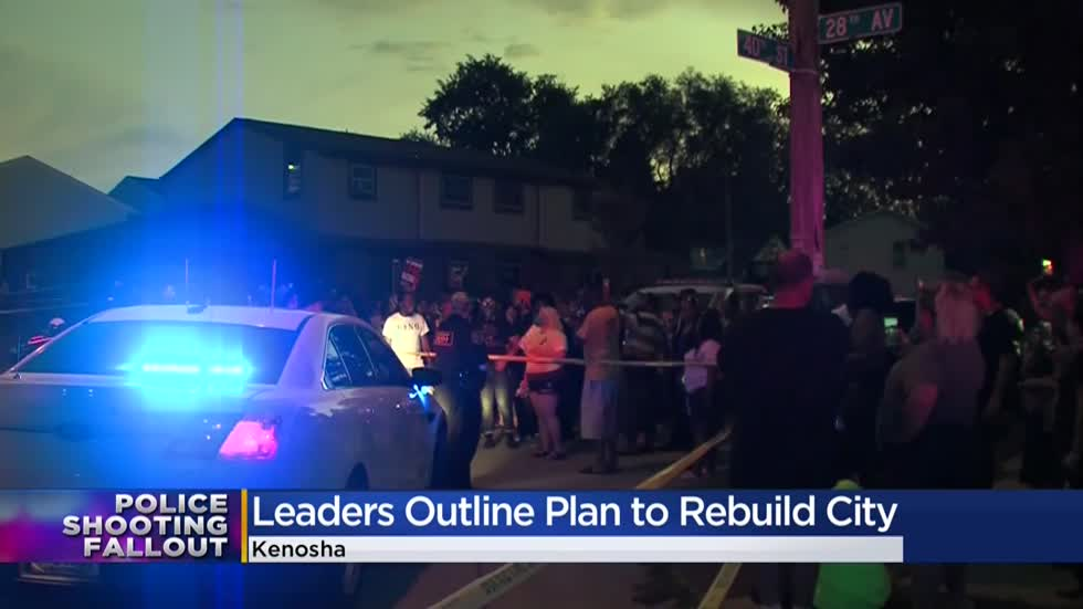 Kenosha announces steps of action to rebuild a stronger, brighter future