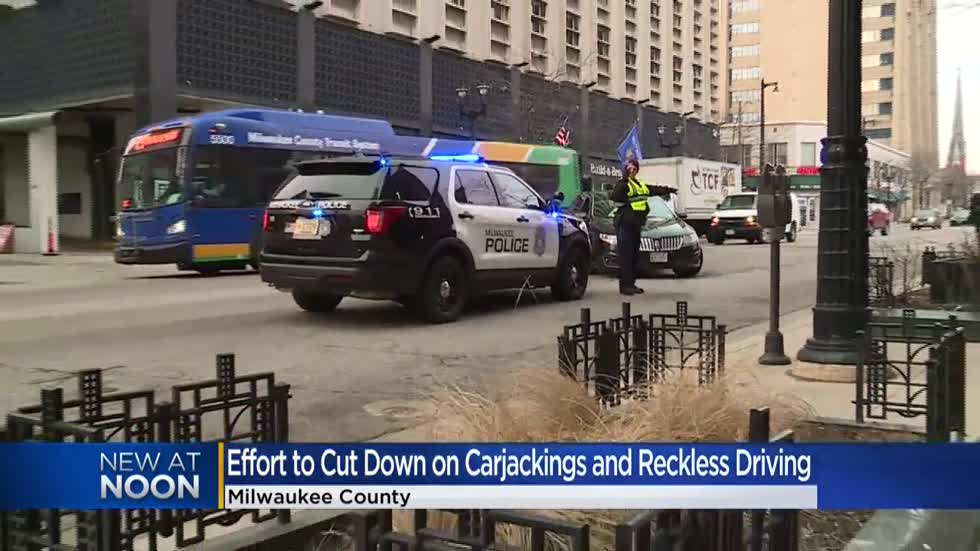 Milwaukee leaders discuss ways to reduce carjackings and reckless driving