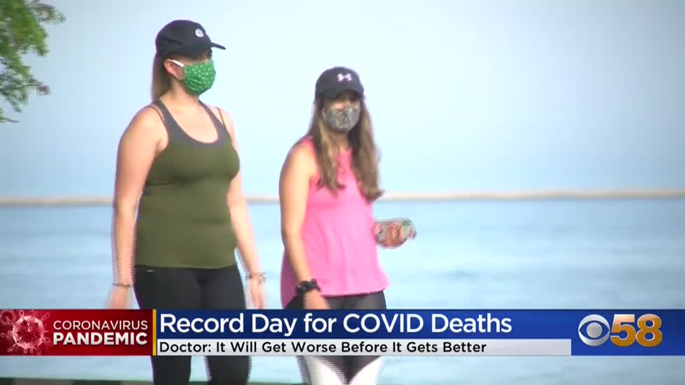 Doctors say COVID-19 case counts in Wisconsin will get worse...