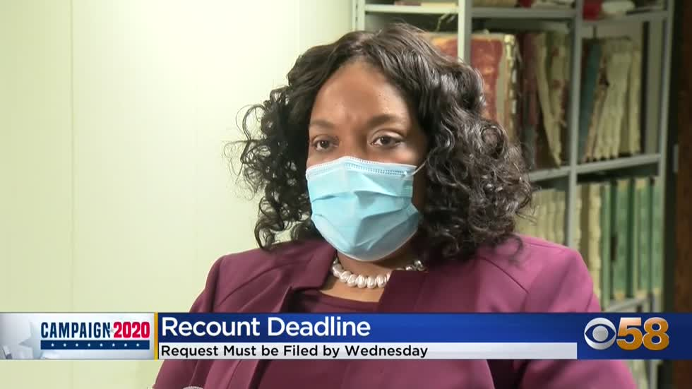 Deadline fast approaching for recount request in Wisconsin