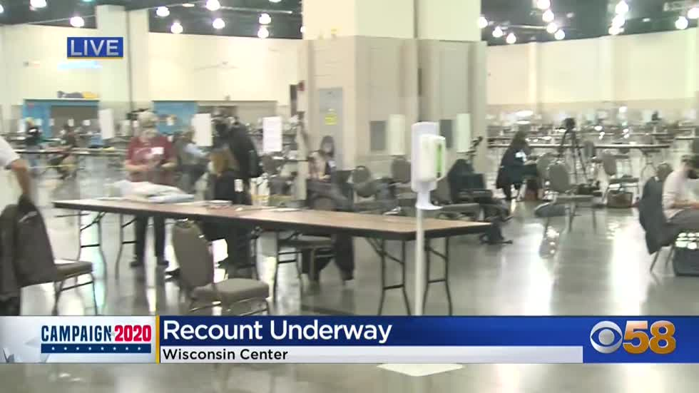 Livestream: Trump campaign makes legal objections during first day of Milwaukee County recount