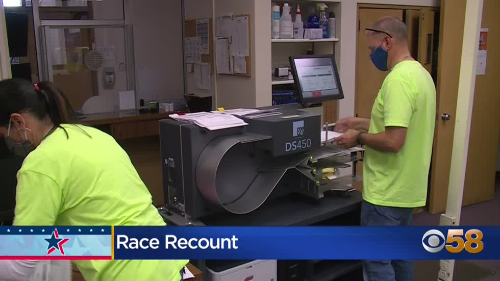 Recount request in Wisconsin: Here's what the process looks like