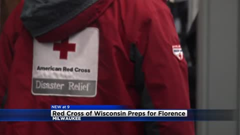 Red Cross of Wisconsin prepping for Hurricane Florence