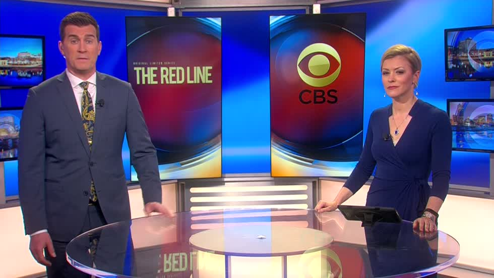 Behind the scenes look at the new CBS drama 'The Red Line'