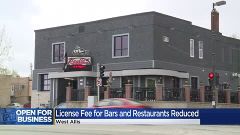License fees for bars and restaurants in West Allis reduced