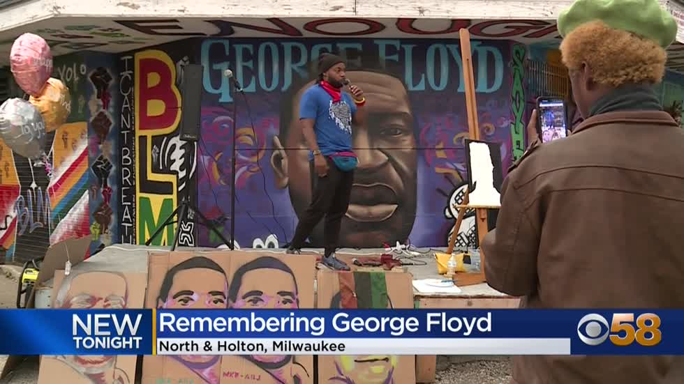 Milwaukee remembers George Floyd on what would be his 47th birthday