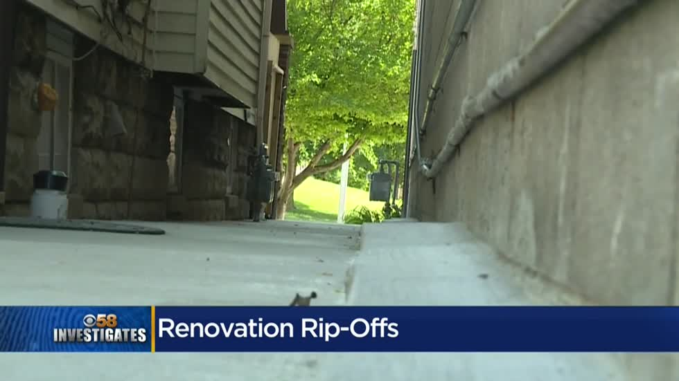 Contractor rips up yards, rips off customers