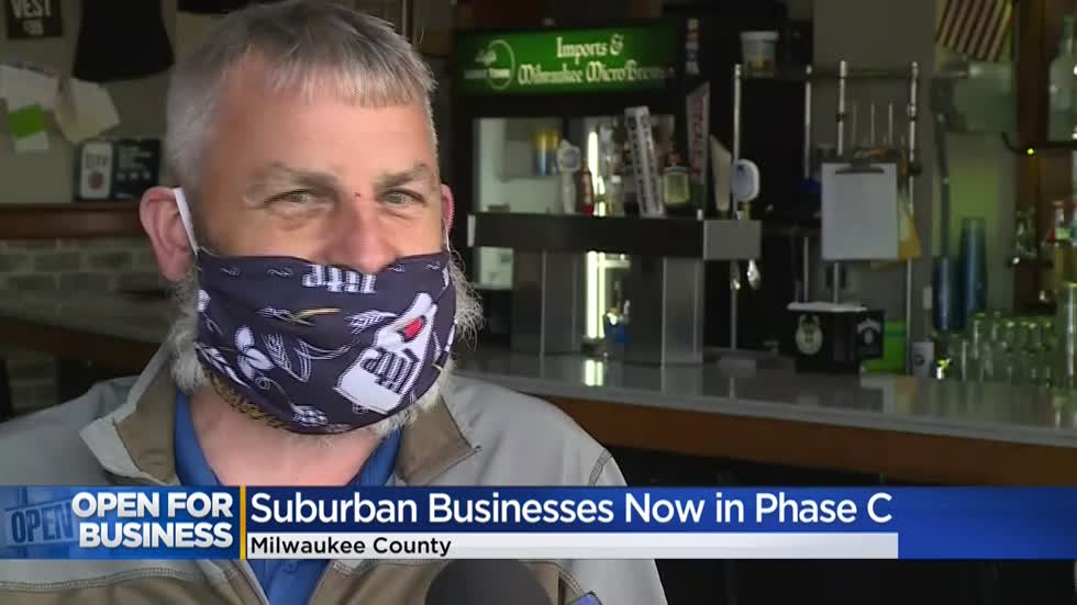 Suburban Milwaukee County bars, restaurants enter Phase C of reopening