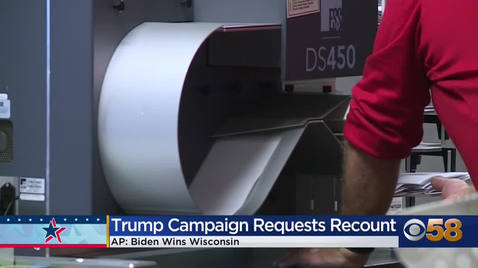 Biden wins Wisconsin; Trump campaign says it's not giving up just yet