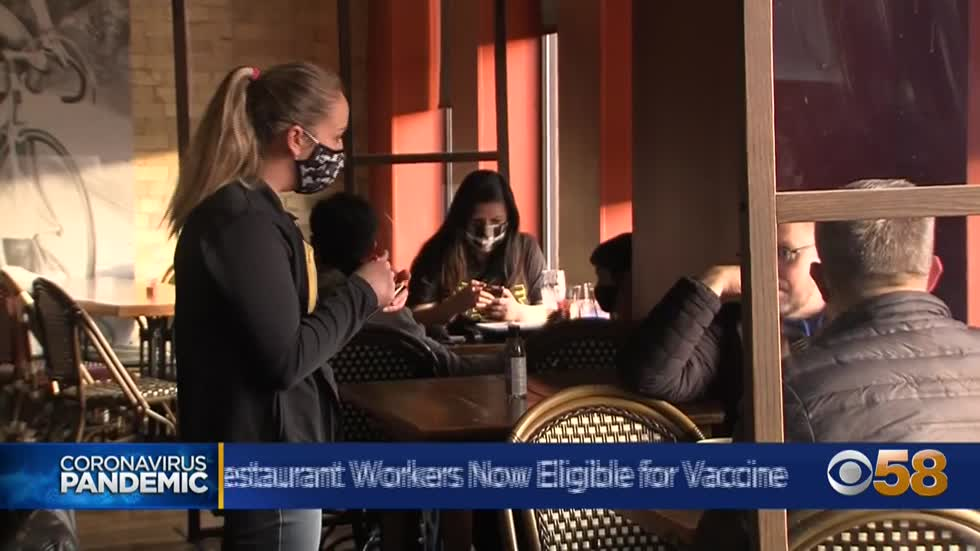 Wisconsin restaurant workers look ahead to getting vaccine, getting back business