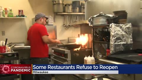 Some Milwaukee bars, restaurants reopen as others refuse