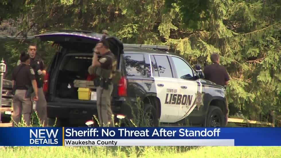 Sheriff: 'No actual threat existed' after report of armed man prompts reverse 911 call in Waukesha Co.