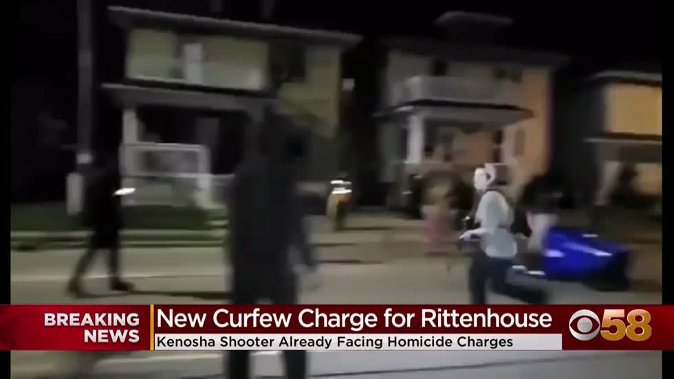 Kyle Rittenhouse faces new charge for violating curfew during Kenosha unrest