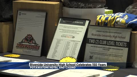 Riverside High School celebrates 150th anniversary at Potawatomi Hotel & Casino