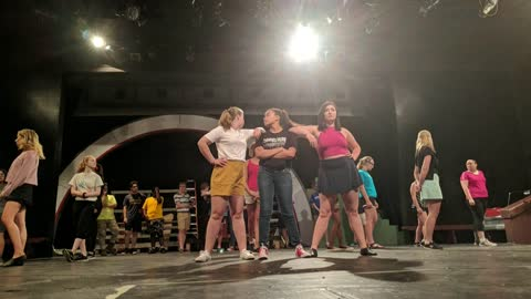 Racine & Me: Grease, Over Our Head Improvisors  (7/14/2019)