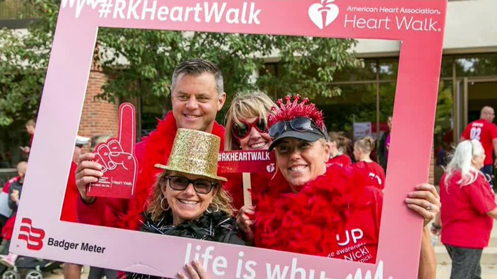 Racine & Me: Heart & Stroke Walk, 13-Year-Old Heart Transplant Recipient, Pop-Up Dinners  (9/29/2019)