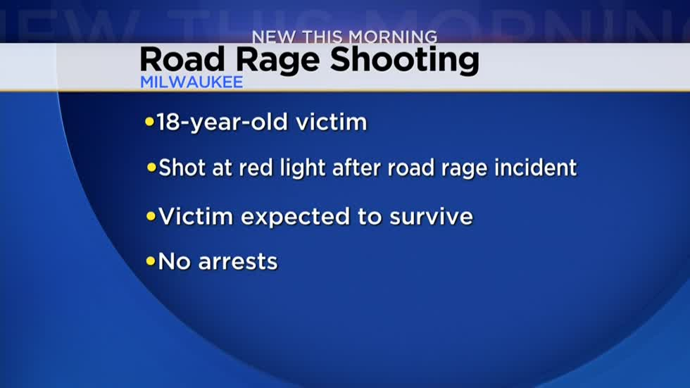 Man shot following road rage incident in Milwaukee