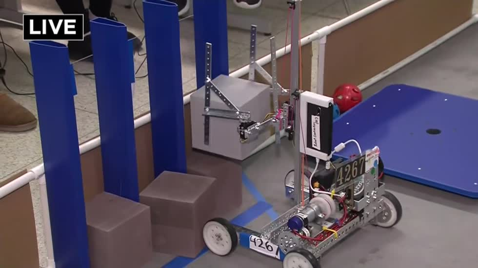 Robots rule this weekend at the State Robotics Championship at UWM