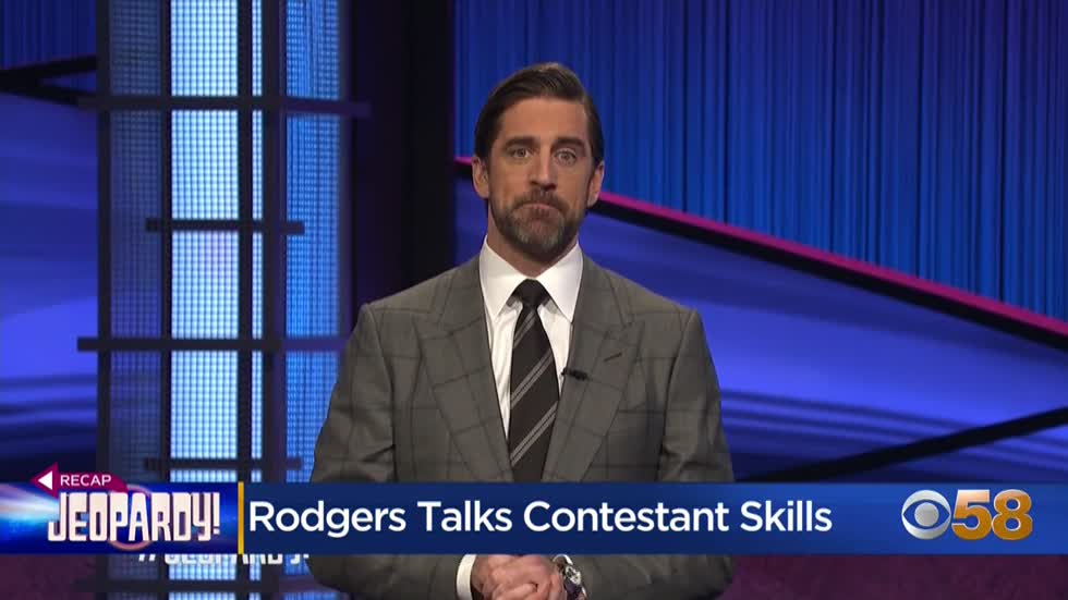 Rodgers talks 'Jeopardy!' contestant skills on 9th episode...