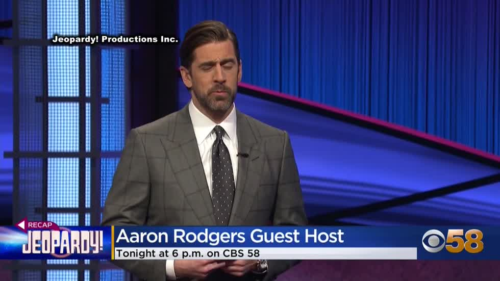 Rodgers lets loose in third 'Jeopardy!' episode
