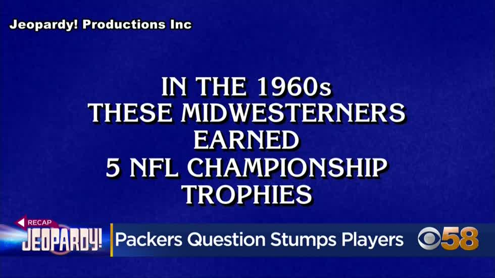 Packers question stumps contestants on Rodgers' 7th episode...