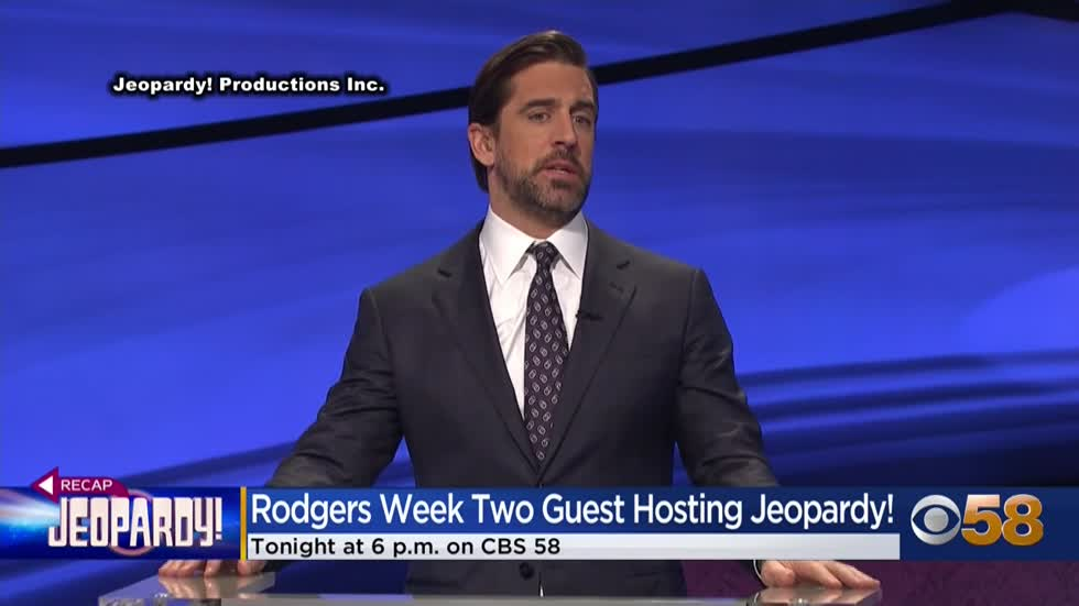 'Jeopardy!' guest-hosting gig brings out some of Rodgers'...