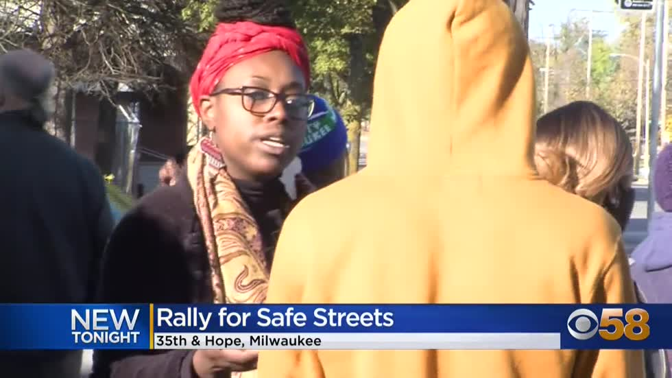 'Safe Streets' rally aims to curb reckless driving in Milwaukee