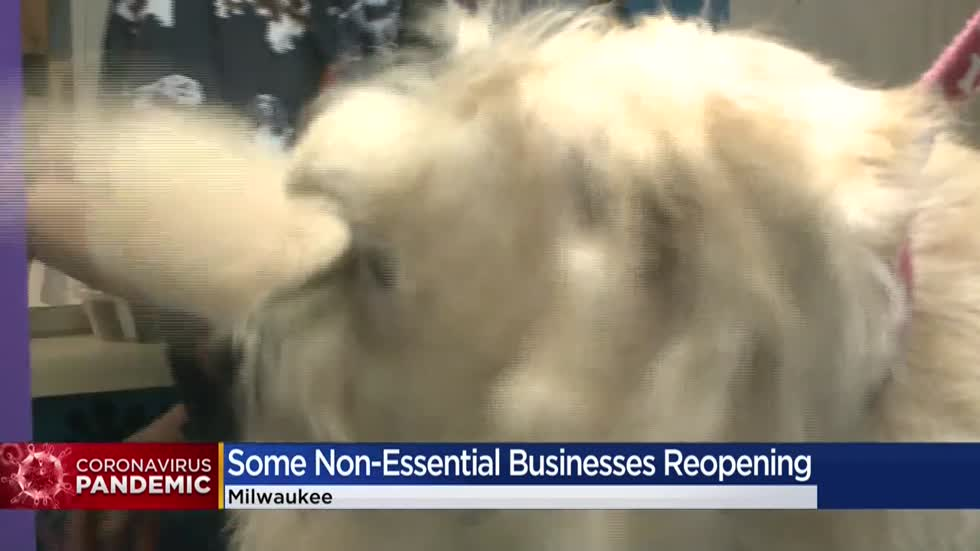 Wisconsin businesses prepare for partial reopen Wednesday