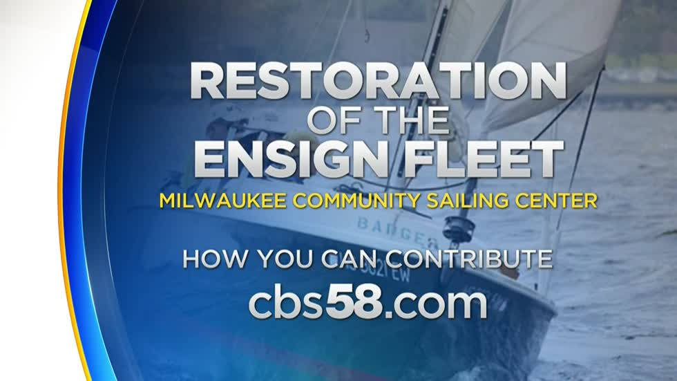 Smoother sailing with restoration Ensign boat project at Milwaukee Community Sailing Center ⛵