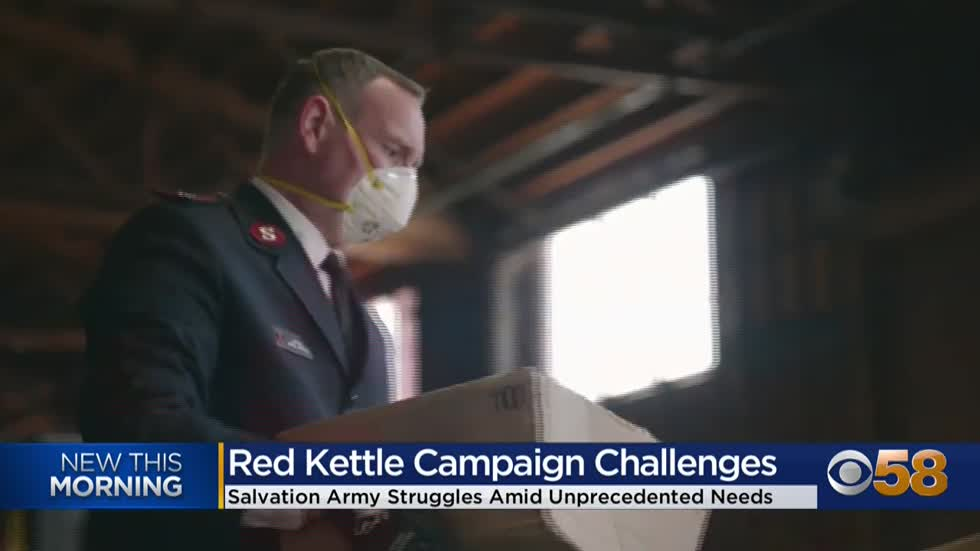 Salvation Army making changes to Red Kettle campaign due to COVID-19...