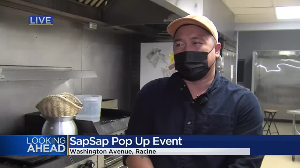 Racine food company, SapSap, holding pop-up event to raise money for Veterans Outreach of Wisconsin