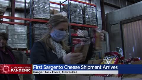 Sargento Foods donates $2 million in cheese to Milwaukee's Hunger Task Force
