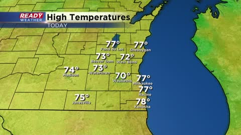 Mild again today, then below normal temps return for the foreseeable future