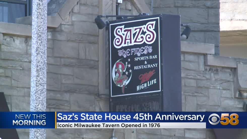 Yum! Saz's State House celebrating 45th anniversary