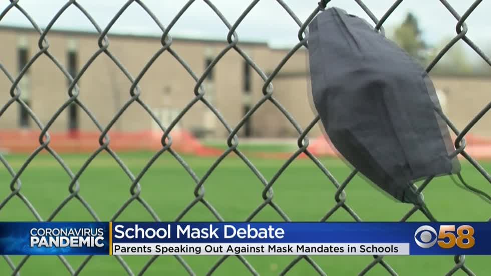 Growing coalition of Waukesha County parents protesting masks...