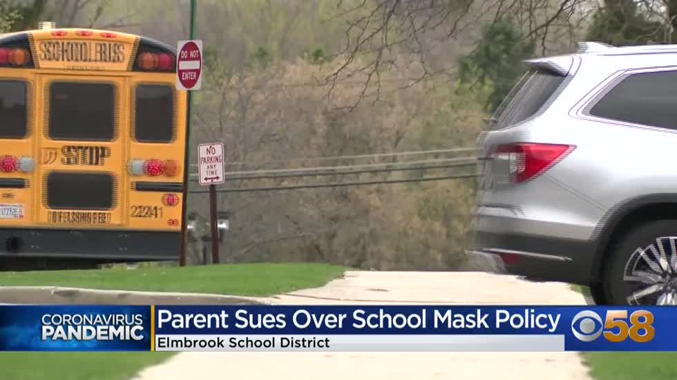 Elmbrook Schools parent files lawsuit against district mask policy
