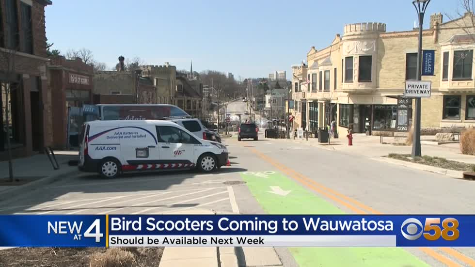 Electric scooters to arrive in Wauwatosa beginning April 5