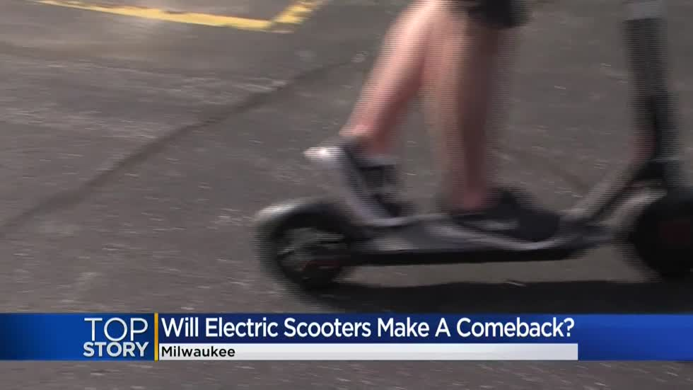 Governor clears the way for electric scooters to return to Milwaukee