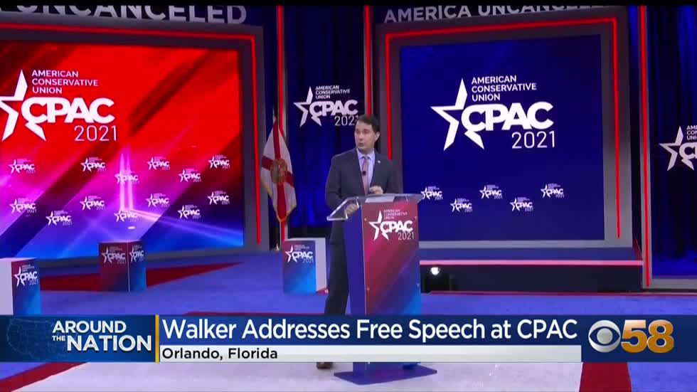 Walker addresses voters in CPAC speech, calls young liberals...