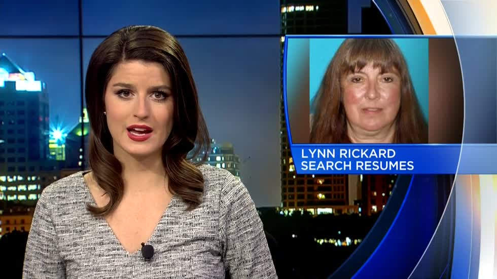 Search for Lynn Rickard resumes Monday